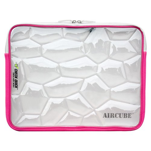 Sumdex Aircube Themoplastic Urethane and Neoprene  Notebook Sleeve for up to 15.4-Inch Notebook Computers (Pink) by Sumdex