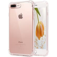 iPhone 8Plus Case, Apple iPhone 8 Plus Cases with Heavy Duty Protection Shock Absorption ,TPU Bumper Cover for iPhone 8Plus
