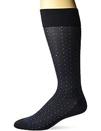 Men's All Over Pin Dot Microfiber Luxury Dress Sock