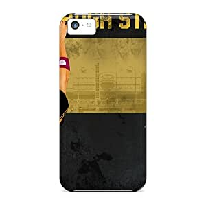 Snap-on Case Designed For Iphone 5c- Pittsburgh Steelers