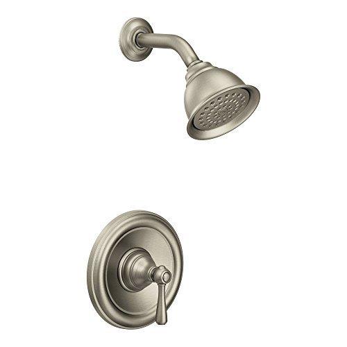 Moen T2112EPBN Kingsley Posi-Temp Shower Trim Kit without Valve, Brushed Nickel by Moen [並行輸入品] B0196Z1KVM
