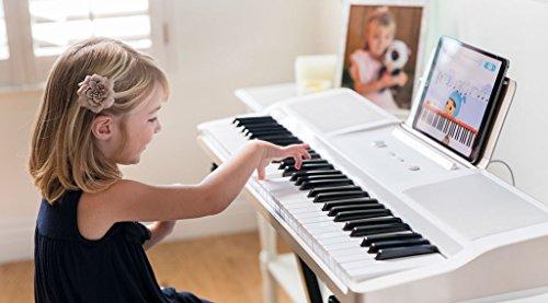 The ONE Smart Piano Keyboard, 61-Key Portable Keyboard, The ONE Light Keyboard,  Electric MIDI Keyboard, Black - Image 5