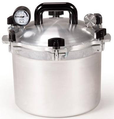 All American 10-1/2-Quart Pressure Cooker Canner by All American