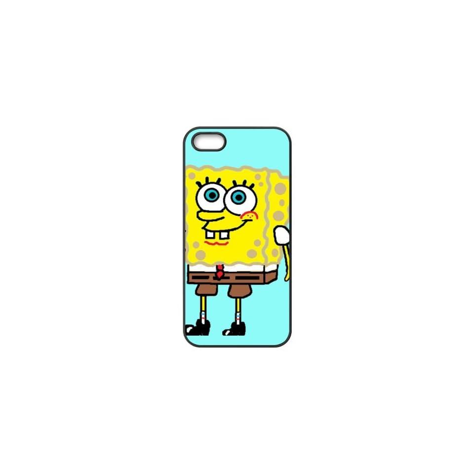 SpongeBob SquarePants Cartoon Accessories Apple Iphone 5/5s Waterproof TPU Back Cases