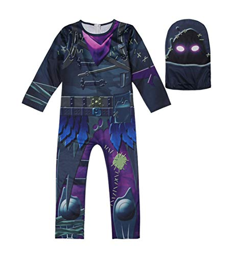 Kids Game Costume Pajamas Sets Halloween Costume Cosplay (130, C) -