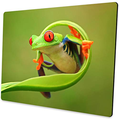 Shalysong Frog Mouse pad Personalized Design Non-Slip Rubber Mouse pad for Laptop Computers (Frog Pad)