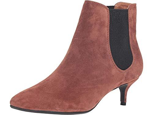 Sudini Women's Beatrice Cognac Suede Leather 7 M US