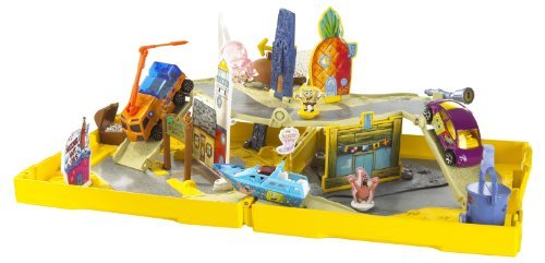 Sponge Bob pop-up play set Bob and Patrick, with one boat by Mattel