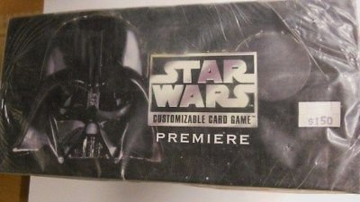 Sealed Starter Deck - Star Wars Black Boarder gaming 10 factory sealed starter decks 1990s