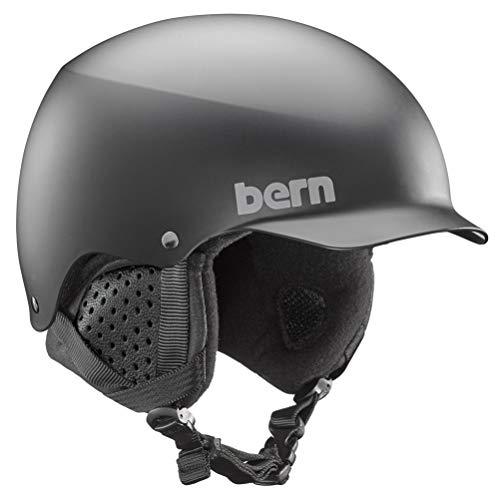 (BERN Baker 8Tracks Audio Helmets - Small/Matte Black)
