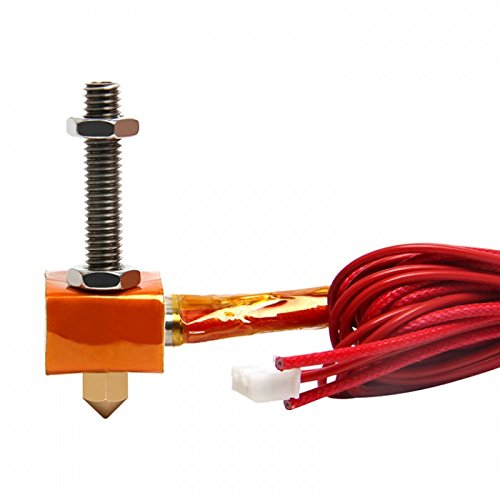GEEETECH MK8 Extruder Hot End kit(Hot end Size:2-0.5mm)