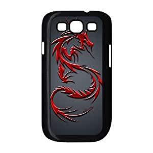 LGLLP Red Dragon Phone case For Samsung Galaxy S3 i9300 [Pattern-2]