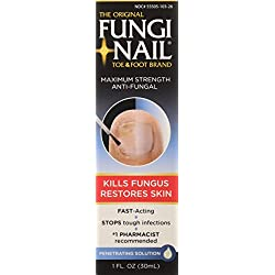 Fungi-Nail Toe & Foot Anti-Fungal Solution, 1 oz