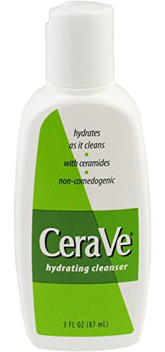 (2 Pack) CeraVe Hydrating Cleanser, 3 Ounce each