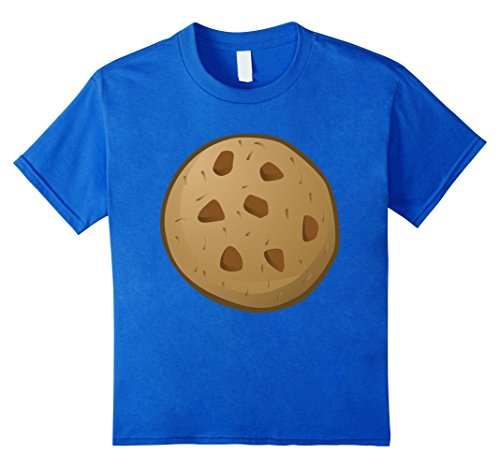 Kids Last Minute Funny Cookie Halloween Costume 10 Royal Blue