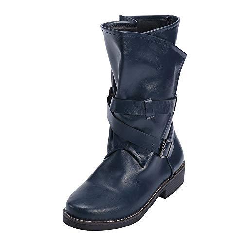 Fashion Classic Flat Boots for Women Winter Boots Motorcycle Boots