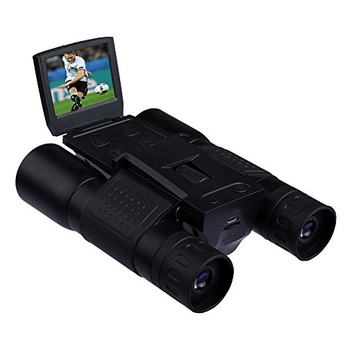 Alinshi Digital Video Photo Camera Binoculars Outdoor 720p 12x32 Digital Video Camera by alinshi
