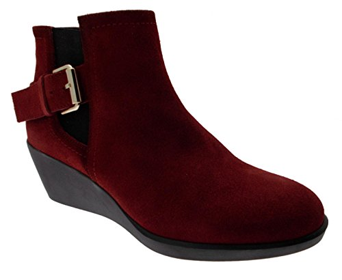 Boots Pons Burgundy Borges Wedge Toni Green Art qatHx