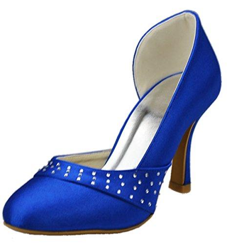 Semelle Minitoo compensée femme bleu Bleu 4qdOq