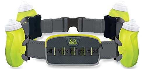 Amphipod RunLite Xtech 4 Plus Hydration Belt ... (Green)