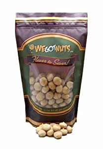 Macadamia Nuts, Raw, Whole ,Shelled - We Got Nuts (5 LBS.)