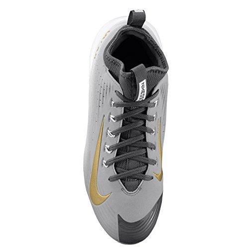 Nike Heren Maan Damp Forel Metalen Honkbalknuppels Stealth / Metallic Goud / Wit
