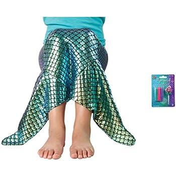 Amazon.com: Vela de cola de sirena para disfraz y cumpleaños ...
