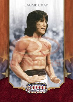 2009 Donruss Americana Trading Card # 1 Jackie Chan