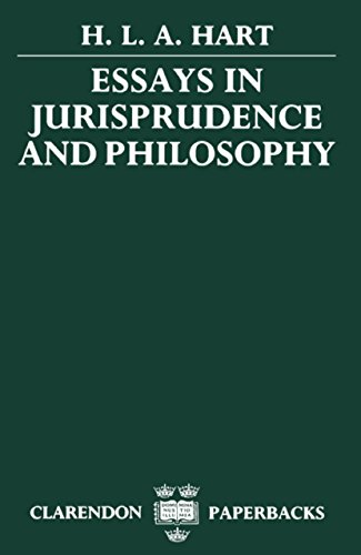 Essays in Jurisprudence and Philosophy