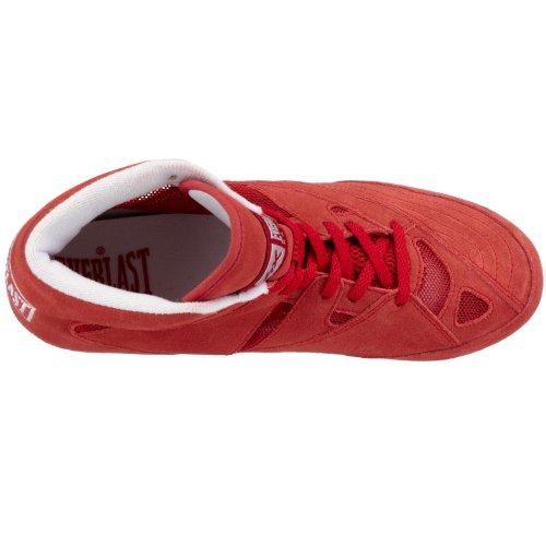 Everlast 8000B - Botines de boxeo Rojo (Rot)