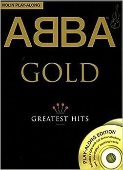 Abba Gold Violin Play-Along Vln Book/2Cd (Play Along Book & Cds)