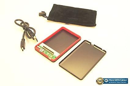 Toshiba External 1.8 Inch Micro SATA SSD HDD Case