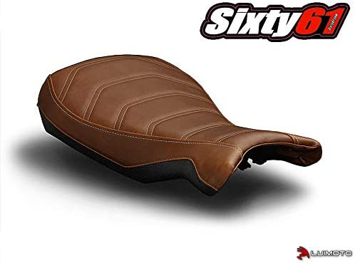 Luimoto Seat Cover for BMW R Nine-T Pure Racer 2014-2020 Vintage Brown Front by Sixty61