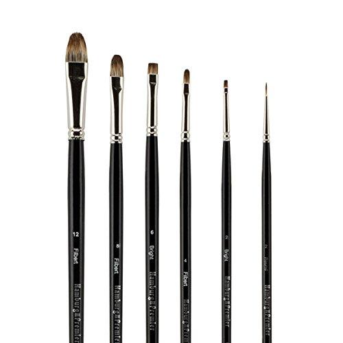Creative Mark Hamburg Premier Brush Explorer Set of 6 Assorted Sizes