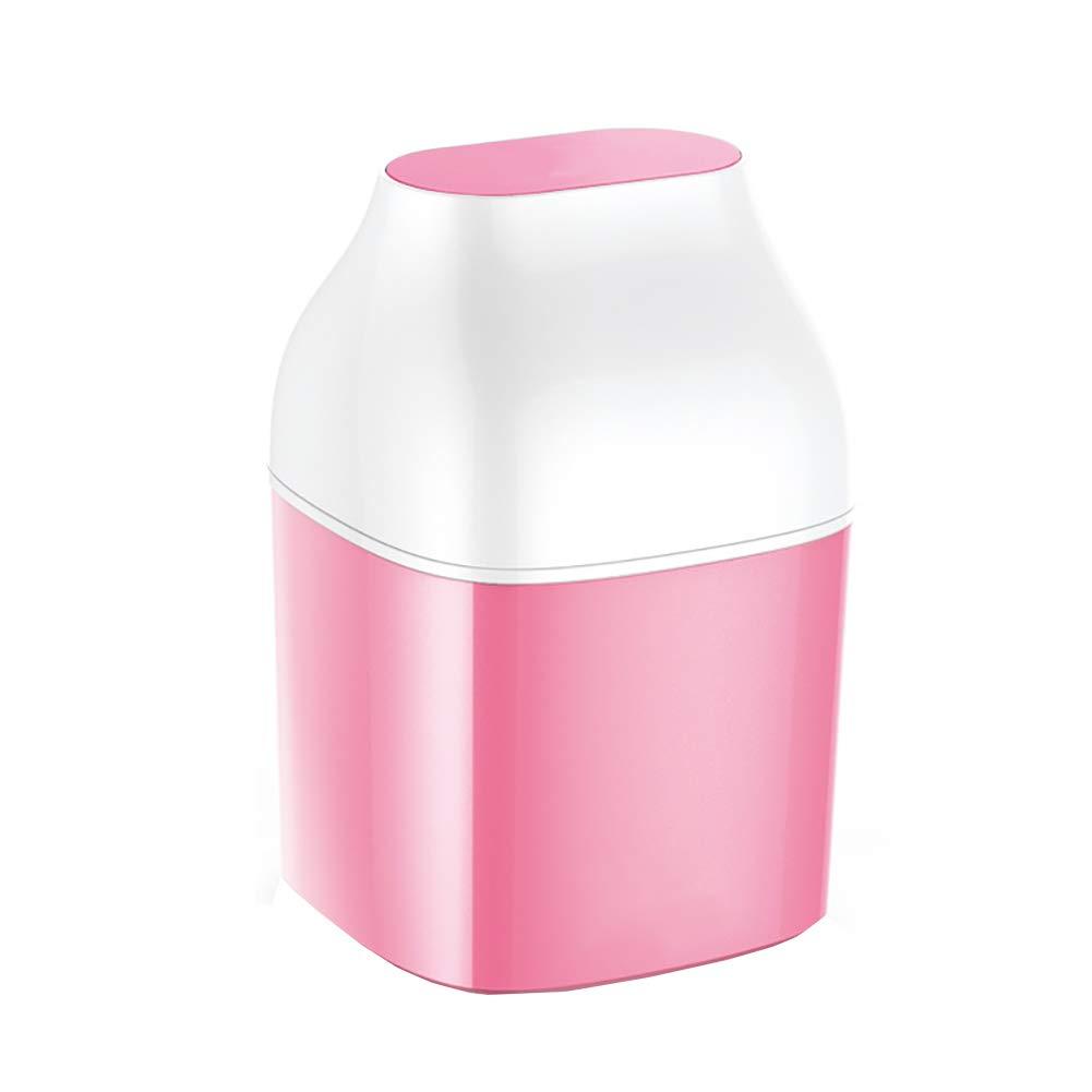 手作業のヨーグルトマシンは電気を必要としない、家庭用自動ヨーグルトマシンは安全で安全、密閉され、清潔に漏れない  Pink B07KWKP27X