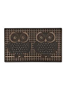 Abbott Copper Double Owl Doormat