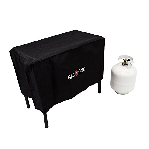 GAS ONE Two Burner Patio Cover Weather & Dust Resistance Cover for Majority of Double - Burner Gas Cooker