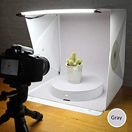 Foldio2 Plus 15 All-in-one Portable Foldable Light Photo Shooting Studio Box with LED Lights by ORANGEMONKIE