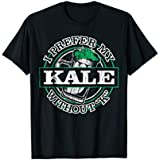 Grünkohl Shirt for Vegans, Vegetarians and Ale Lovers on Diet