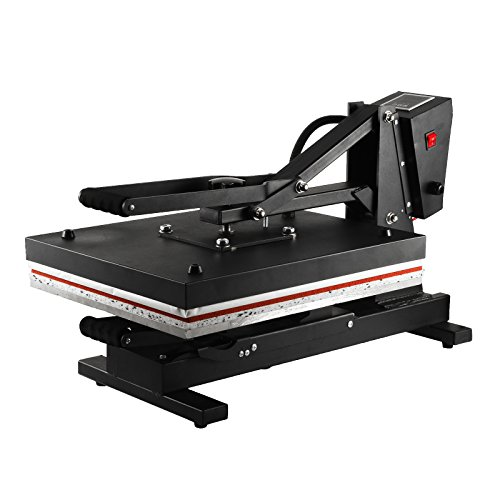 VEVOR 16x20 Inch Heat Press Digital Clamshell Heat Press Machine High Pressure 1300W Heat Press Machine for T Shirts LCD Display Pull-out Style Clamshell Design (16x20 Inch Clamshell Design) by VEVOR