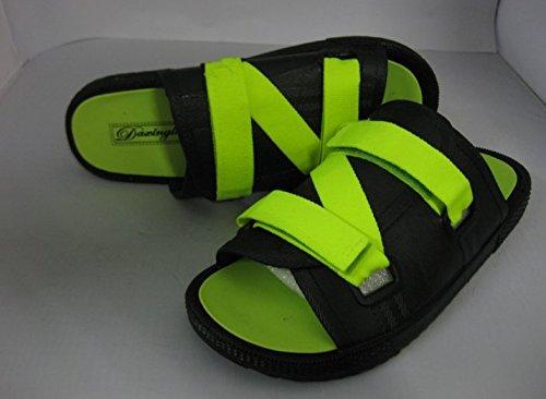 Xing Lin Herren Sandalen Sommer Trend Flip Flops Schuhe Mode Für Männer Flops Liebhaber Schuhe Schuhe Männer Flip Groß 4139 Schwarz Und Grün Pflege