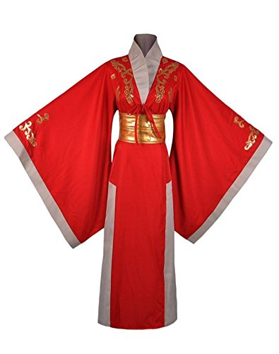 Game Cosplay Costume for Women Adult Halloween Party Queen Outfit Red (Ice Queen Halloween Outfit)