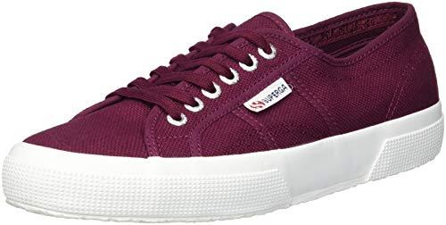 2750 Superga Sneaker Bordeaux Cotu Women's White 7fOq5