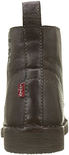 dark 29 Brown Marron Track Bottines Homme Motardes Bottes Levi's amp; w80qz10H