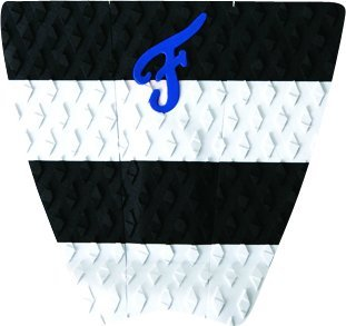 Famous Woodlake 3 piece White and Black Traction Pad (Stomp Stars Pad)