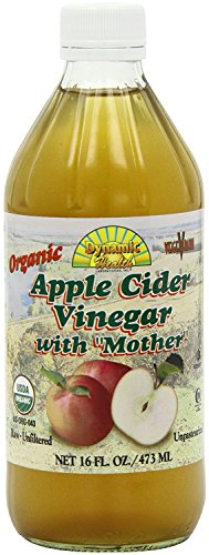 Dynamic Health Organic Apple Cider Vinegar with Mother Glass, 16-Ounce Glass Bottle (Pack of 2)