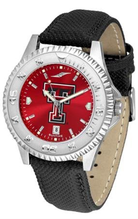 (Linkswalker Mens Texas Tech Red Raiders Competitor Anochrome Watch)