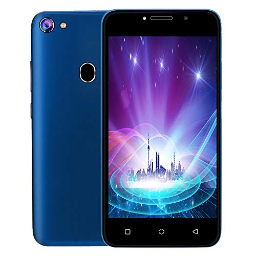 5.0 Inch Unlocked Cell Phone 3G LTE Android 8.1 Cell Phone Smartphone 2 SIM 512 MB 4GB WiFi 5MP AT&T Smart Phone (Blue)