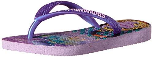 Havaianas Kids Slim Princess Sandal Flip Flops (Toddler/Little Kid), Lilac/Lilac, 29-30 BR(13, 1 M US Little Kid)