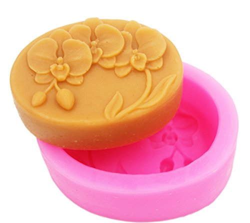 Orchid 50145 Craft Art Silicone Soap mold Craft Molds DIY Handmade soap molds (S103) by Longzang